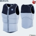 2019 Manera impact vest Boom-Vest with zipper (color: black / alloy blue)