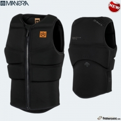 2019 Manera impact vest Boom-Vest with zipper (color: black)