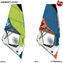 2019 Simmer Style BLACKTIP wave purje 3.1-5.9 m2