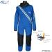 Dry Fashion KUIVAPUKU / DRYSUIT Profi Sailing Regatta, Color 76 Blue with Black Knee and seat reinforcement.