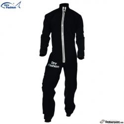2020 Dry Fashion Drysuit kuivapuku SUP Advancen Pro+. Color 79 Black with White zipper.