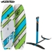 F-one Windfoil set, supfoil - windfoil board 110L and hybrid hyhdrofoil