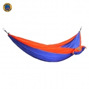 MoonHammock Double riippumatto kahdelle, sininen-oranssi