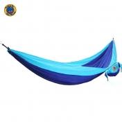 MoonHammock Single riippumatto yhdelle, sininen-turkoosi
