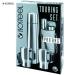 Isosteel Touring Set Pro Bag termossetti.  0,9l pullo +2 x0,4l muki + laukku.