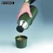 Isosteel X-line termospullo 1,0L vihreä rikkoutumaton, lahjapakkaus
