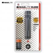 MagLite XL200 LED 3AAA harmaa