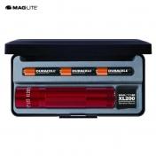 MagLite XL200 LED 3AAA lahja punainen