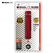 MagLite XL200 LED 3AAA punainen