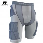 Russell kiinteäpehmusteiset suojahousut  - Integrated 5-Pocket Russell Football Girdle