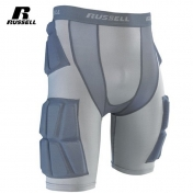 Russell kiinteäpehmusteiset suojahousut  - Integrated 5-Pocket Russell Football Girdle