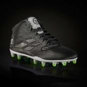 WARRIOR BURN8.0 Molded Football Cleat mid-high D, black/grey
