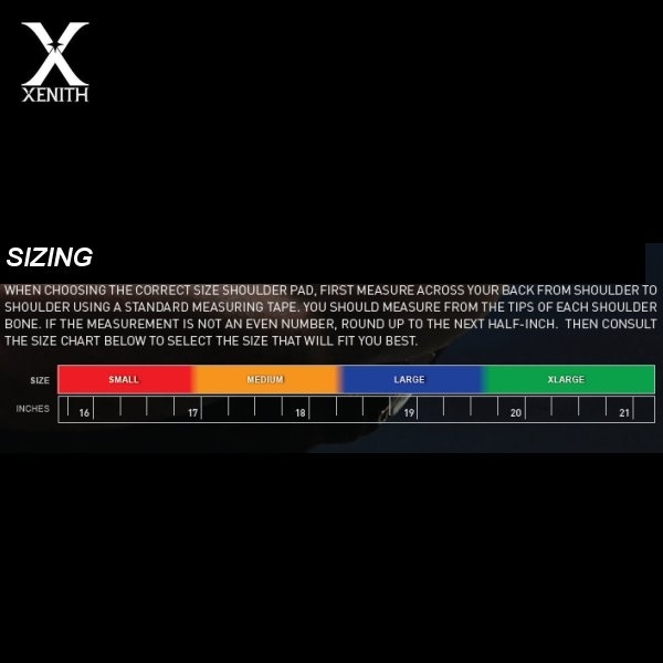Xenith Xflexion Velocity Hartiasuojat Xlexion Shoulder Pads